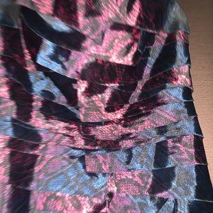 bebe Dresses - Mini- snake print Dress